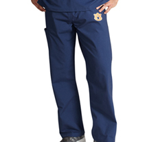University of Auburn Unisex College Scrub Pants 5310