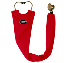 University of Georgia Red Stethoscope Cover