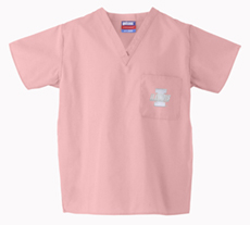 University of Illinois Pink 1-Pocket Top