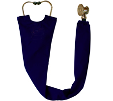 Navy Stethoscope Cover