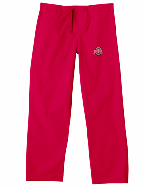 Ohio State University Red Regular Pant